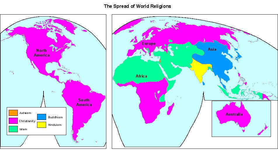 Five World Religions - World History
